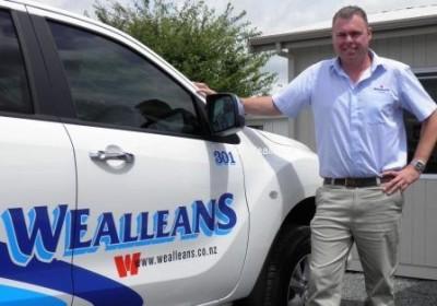 Wealleans Head of Technology and Development, Ben Warren