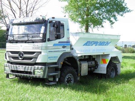 Reporoa Groundspread's new truck