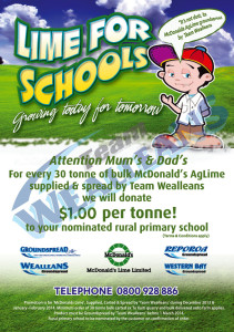 Lime for Schools Promotion
