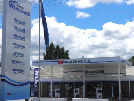 New signage in Hinuera