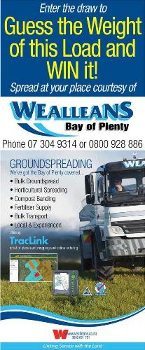 Wealleans Bay of Plenty A&P Show flyer