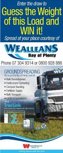 Wealleans Bay of Plenty A&P Show flyer