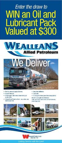 Wealleans Allied Petroleum A&P Show flyer