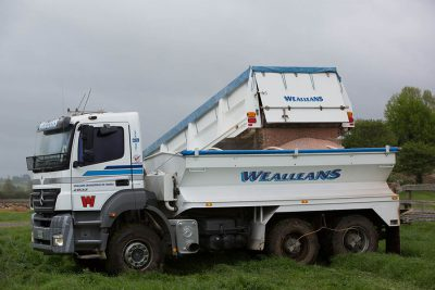 truck trailer spreader